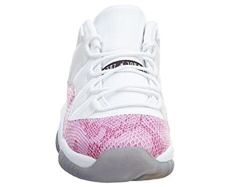 Nike Mens Black Mamba Shoes, Tour Yellow/Court Purple, 8.5 White/Black-Pink