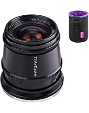 $139 » TTartisan 17mm F1.4 APS-C Format Wide-Angle Lens Compatible with Fuji X-Mount Cameras X-A2 X-A2 X-A3 X-A5 X-A7 X-H1 XT1 X-T2 X-T3 X-T100 X-T200 X-PRO1 X-PRO3 X-E1 X-E2