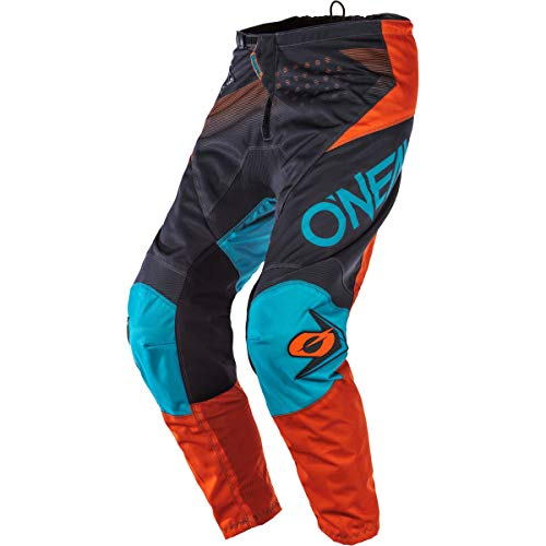 O'Neal Element Youth Boy's Pants (Gray/Orange/Blue, 8/10)