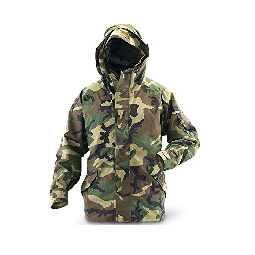 - US Army Genuine Military Issue GEN 2 II ECWCS Camouflage Goretex Waterproof Parka Jacket Coat (Camo, XLR)