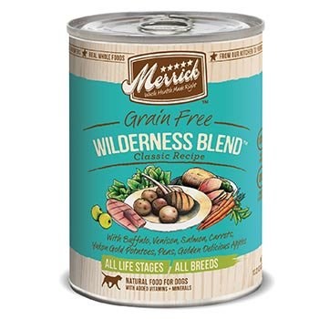 Merrick Classic Grain Free Wilderness Blend Canned Dog Food, My Pet Supplies