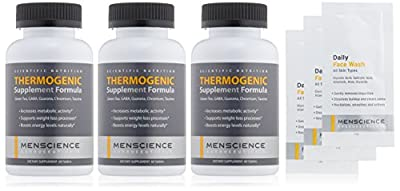 MenScience Androceuticals 3-Month Supply Thermogenic Formula Supplement