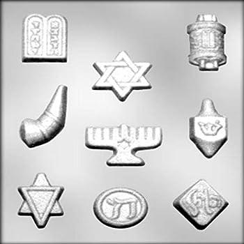 Amazon.com: Molde de silicona Aviv Judaica Hanukkkah – 4 ...