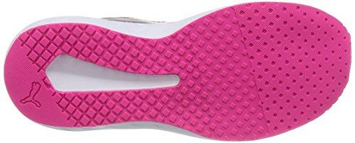 Puma Flare Mesh Wns - Zapatillas para mujer Rosa (Pink Glo-Periscope-puma White 04)