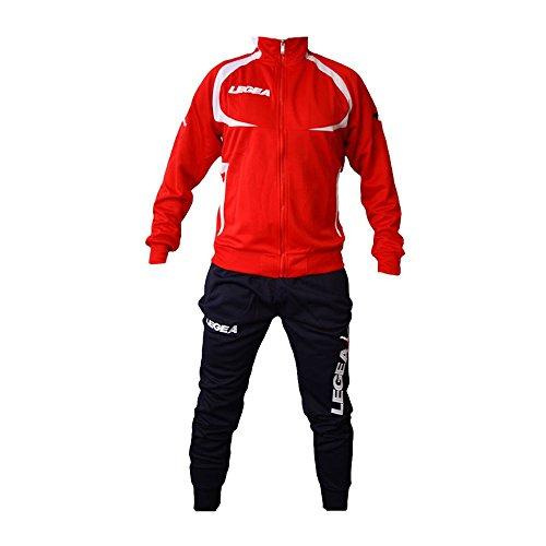 Calcio Fitness Calcetto Palestra Uomo Notte Rosso Tuta blu Legea Runnig Allenamento Puebla 2016 txqTgxA1wp