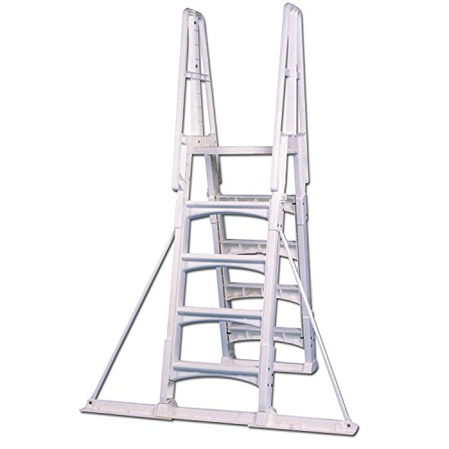Vinyl Works Ladder (Vinyl Works Slide-Lock A-Frame Above Ground Pool Ladder Stabilizer Kit)