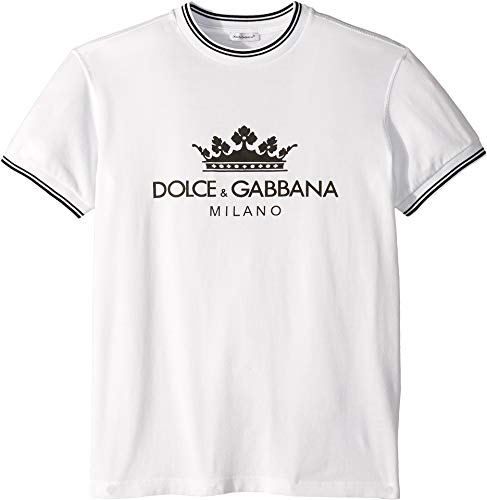 Dolce   Gabbana Kids Boy s D G Sport Graphic T-Shirt (Big Kids) White 00e30894f98