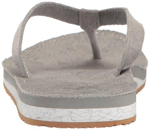 New Balance Womens Classic Thong Sandal Grey/Gum