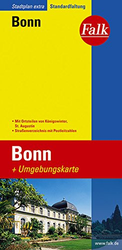 Falk Stadtplan Extra Standardfaltung Bonn