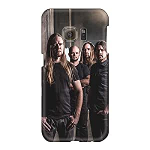 Excellent Hard Phone Case For Samsung Galaxy S6 With Customized Nice Insomnium Band Series AlissaDubois