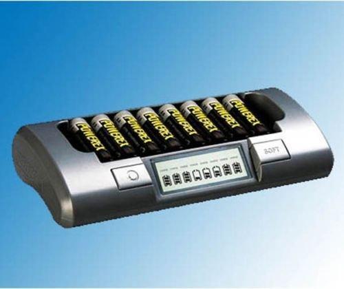 PowerEx MH-C800S 8 Cell Smart Battery Charger AA AAA NiMH NiCd Maha Energy