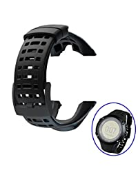 Replacement Watch Band,Efitty Rubber Strap Replacement Watch Band Strap For Suunto Ambit 3 Peak / Ambit 2