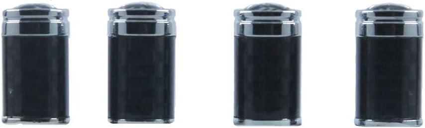 Bouchons de protection Valve PEUGEOT noir jante noire sup/érieure syndicat cl/é porte-cl/és d/'US seulement 108 208 2008 308 3008 508 5008 RCZ ION TEPEE Capuchon de valve