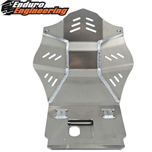 Enduro Engineering Skid Plate - Compatible with 2008-2019 Kawasaki KLR 650 24-8018 ()