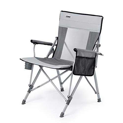 CORE Padded Mesh Hard Arm Chair