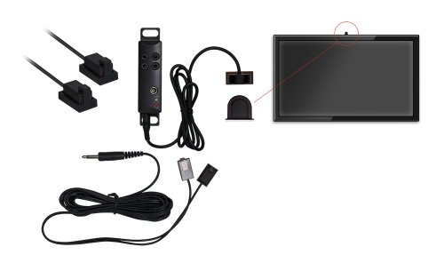 Audio Solutions AS-IRKIT IR Kit with 1-RX and 4-Dual Emitters for AC adapter