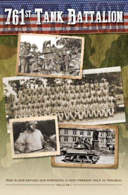 Warner Press Bulletin-761st Tank Battalion (Psalm 46:1) (Pack of 100)