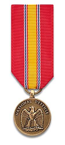 National Defense Service mini-Medal, mirror finish