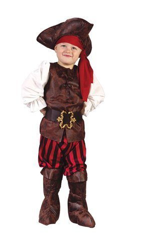 Costume High Seas (High Seas Buccaneer Costume - Toddler)
