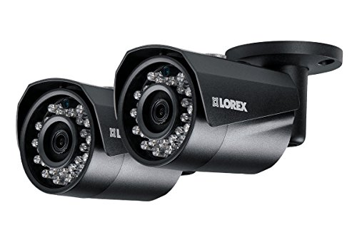 Lorex 4MP HD IP LNB4421W 2-Pack Bullet Camera with Color Nig