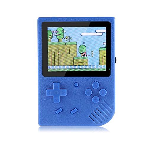 """Pawaca Retro Handheld Game Console, Portable Handheld Game Console Built in 600 Mini Video Games 3.5"""" LCD Screen Rechargeable Battery Support TV,Present for Boy Kids Adult"""