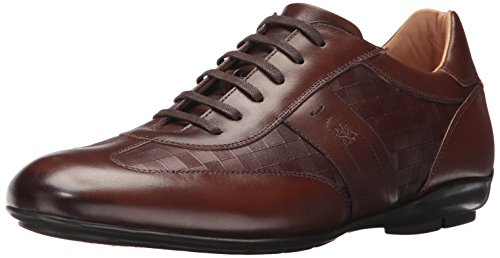 Mezlan Hombres Baena Moda Sneaker Sneaker Cognac