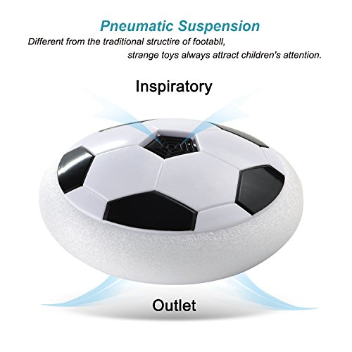 Indoor Outdoor Air Power Soccer Hover Disk Ultraglow With