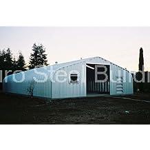 Duro Span Prefabricated Steel Arch Metal Garage Kit G25x30x13
