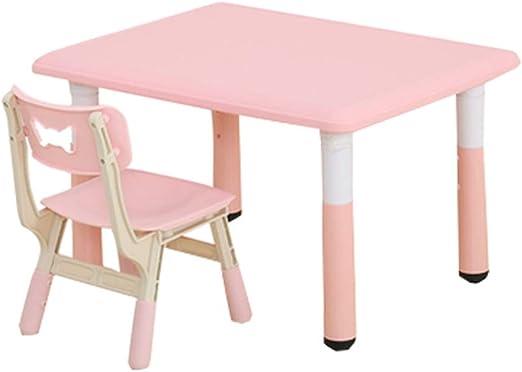 Xing Hua - Juego de Mesa y sillas para guardería y Mesa de Estudio ...