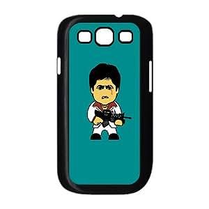 Samsung Galaxy S3 9300 Cell Phone Case Black_Scarface - Tony Montana Ollbq