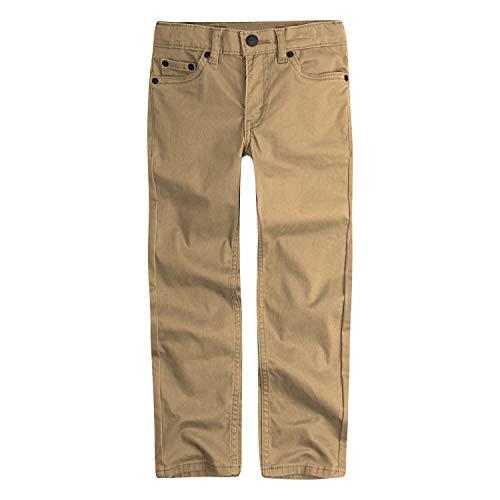 Levi's Boys' Big 511 Slim Fit Soft Brushed Pants, Harvest Gold, 14 (Levi 505 Slim Boys)