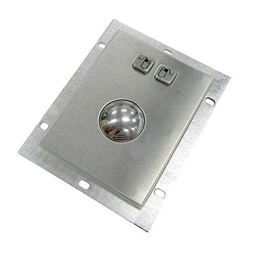 DSI Metal Optical Trackball Mouse - Kiosk Mountable KA-OPT-1001-U