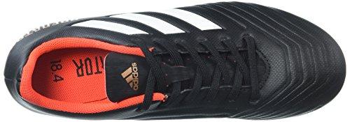 Adidas Originals Bambini Asso 18,4 Fxg Nucleo Scarpa Da Calcio Bianco Nero Rosso / / Solare