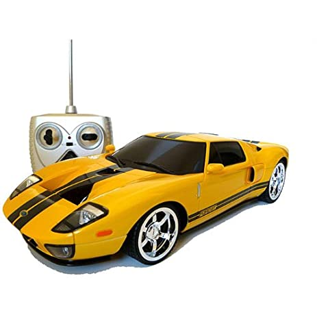 Ford Gt Electric Rc Car Th Scale Yellow