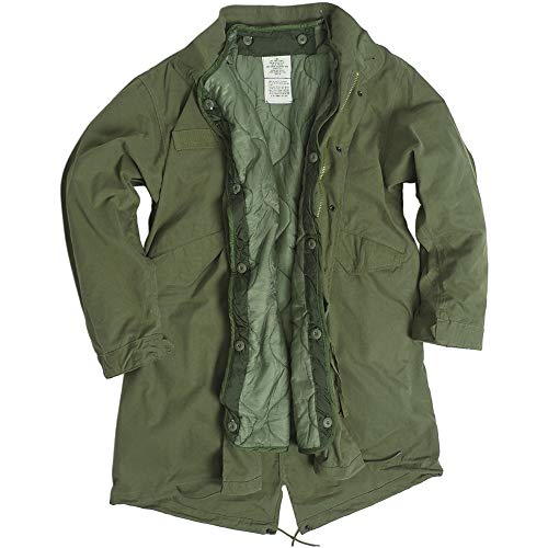Mil-Tec US Style M65 Parka with Liner (X-Small) for sale  Delivered anywhere in USA