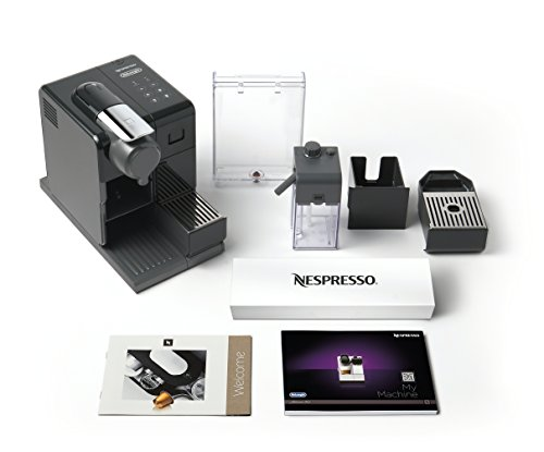 Nespresso Lattissima Touch Original Espresso Machine with Milk Frother by De'Longhi, Washed Black by DeLonghi (Image #4)