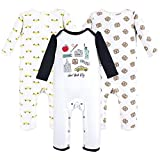 Hudson Baby Unisex Baby Coveralls/Union Suits, NYC 3-Pack, 18-24 Months (24M)