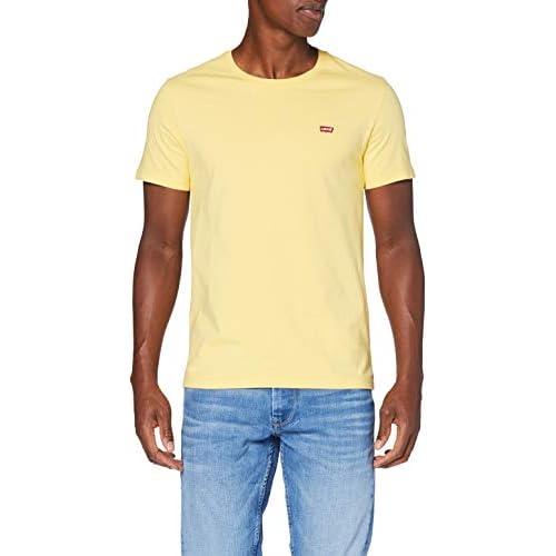 chollos oferta descuentos barato Levi s SS Original Hm tee Camiseta Dusky Citron L para Hombre
