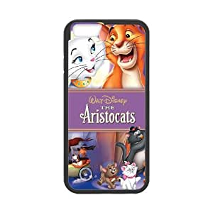 iPhone 6 Plus 5.5 Inch Cell Phone Case Covers Black AristoCats as a gift U0675200
