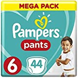 Pampers Pants Diapers, Size 6, Extra Large, 16+ kg, Jumbo Pack, 44 Count