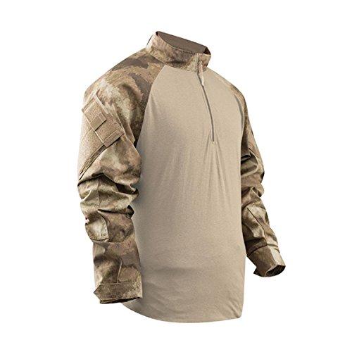 Tru-Spec A-TACS TRU Combat Shirt, AU Camo, XLR