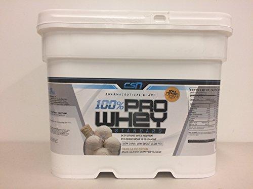 CSN 25lb Whey Protein (Vanilla Ice Cream) by CSN