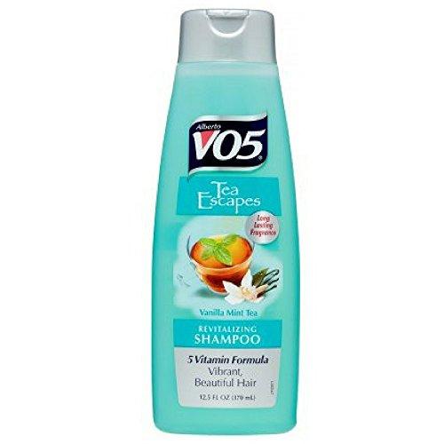 VO5 Tea Therapy Revitalizing Shampoo, Vanilla Mint Tea 12.5 oz (Pack of 2)