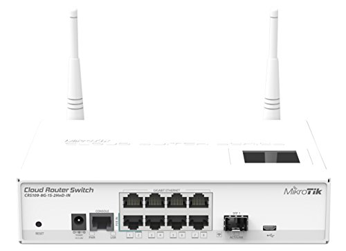 MikroTik Cloud Router Switch CRS109-8G-1S-2HnD-IN