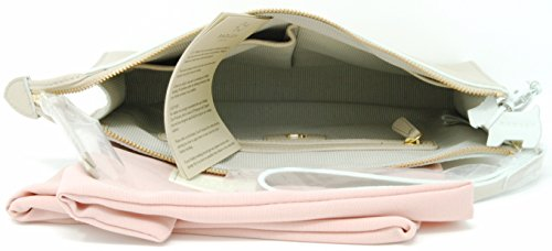 with Bag Zip Strap Medium Radley Wrist in 'Bourton' Top Clutch Natural qO4xBwY