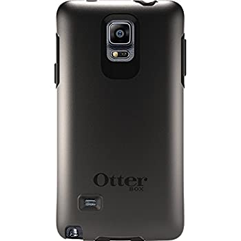 OtterBox Samsung Galaxy Note 4 Case Symmetry Series - Retail Packaging - Black