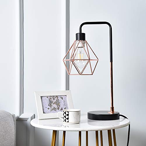 COTULIN Table Lamp, Delicate Design Desk Lamp for Living Room Bed Room,Rose Gold
