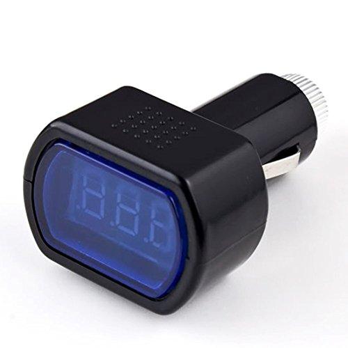 LED Digital Car Volt Voltage Meter Battery Vehicle Car 12v 24v Battery Voltage Meter Monitor Tester Checker: