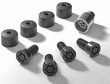 VW PASSAT REPLACEMENT LOCKING WHEEL BOLT NUT SECURITY KEY MOST VW LOCKING BOLTS