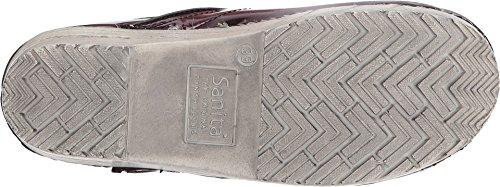 Sanita Frauen Original Patches Limited Edition Clogs Himbeer Leder